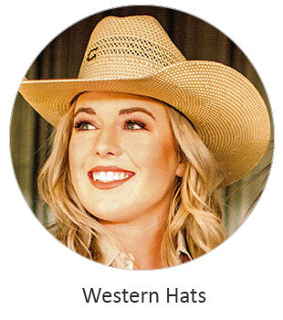 Women's Western hats and Caps