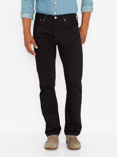 Levi's 005010660 Mens 501 Original Fit Jeans Black