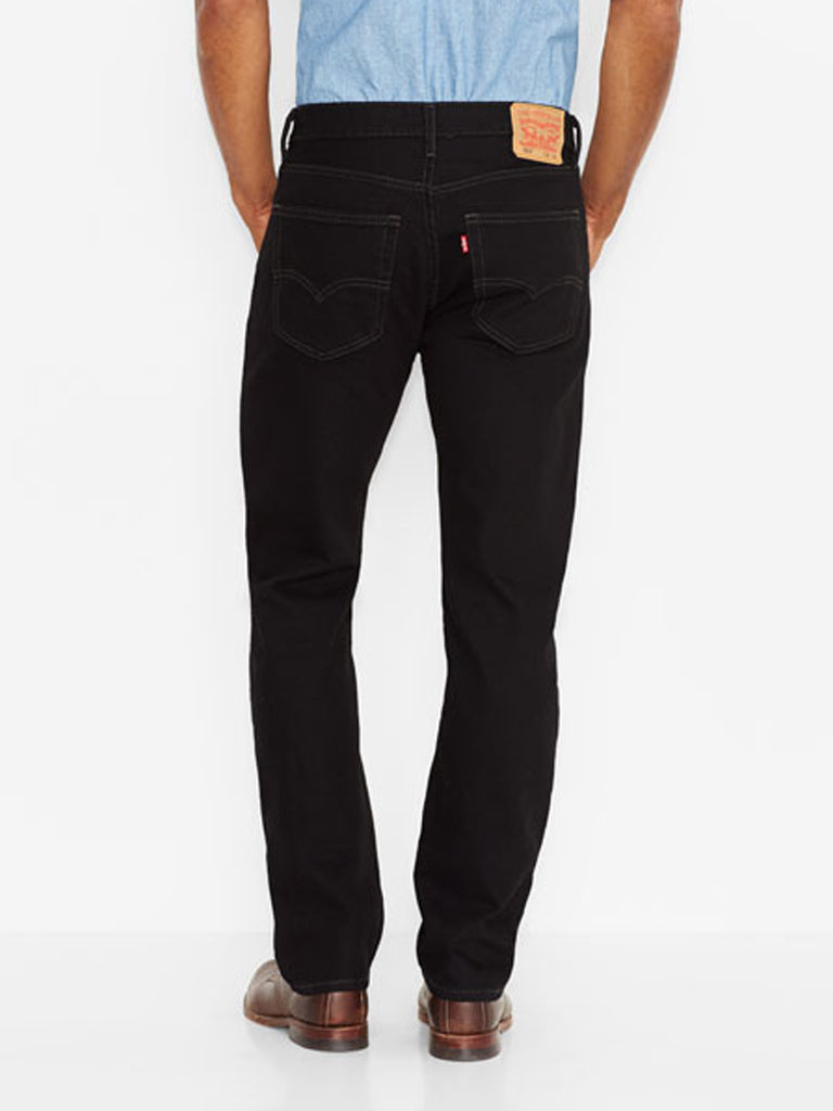 Levi's 505 Regular Fit Jeans Black 005050260