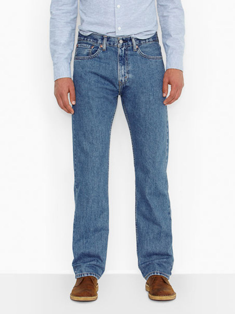 Levi's 505 Regular Fit Jeans Medium Stonewash Levis - J.C. Western® Wear