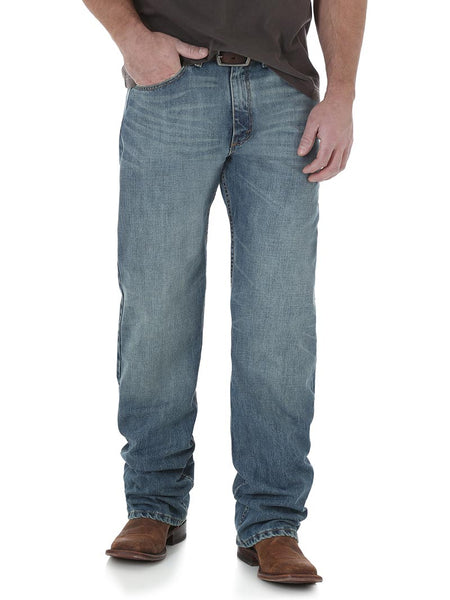 Wrangler 01MWXDY Mens 20X 01 Competition Relaxed Fit Jeans Dusty
