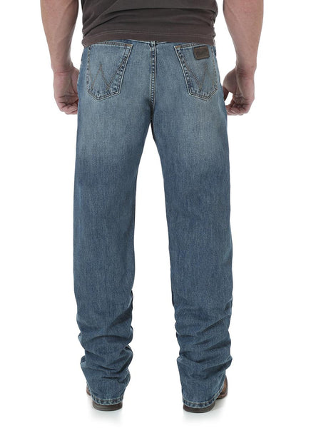 Wrangler 01MWXDY Mens 20X 01 Competition Relaxed Fit Jeans Dusty Back