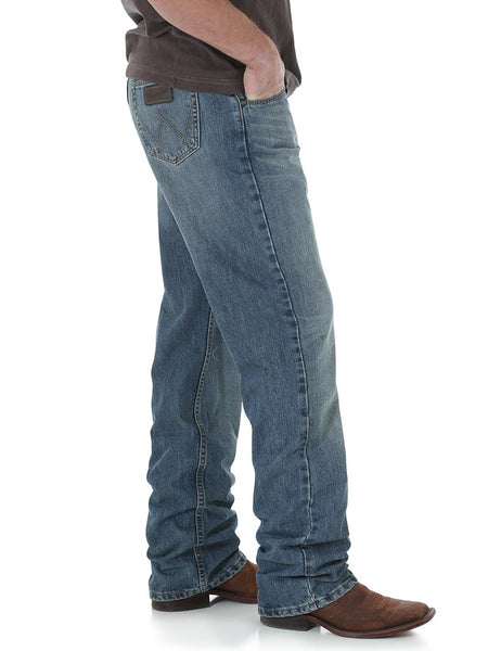 Wrangler 01MWXDY Mens 20X 01 Competition Relaxed Fit Jeans Dusty Side