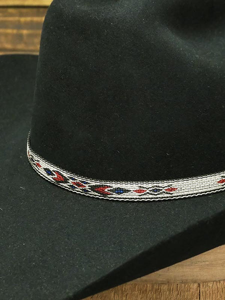 "Twister 0201797 1/2"" Ribbon With Black Tassel Hatband Multi Hat is not included. Only Hatband."