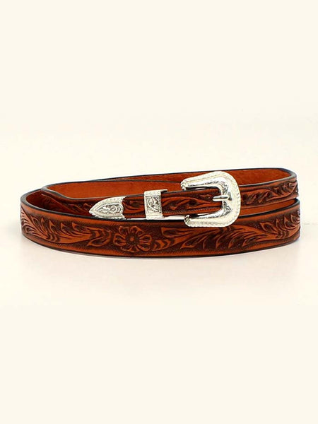 Twister 0279208 5/8 Hand Tooled Genuine Leather Hatband