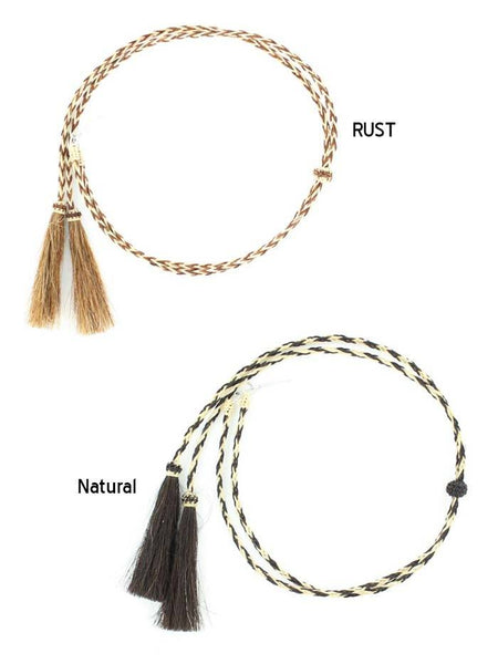 Twister Natural Horsehair Braided Stampede String Chin Strap 0296248 0296232