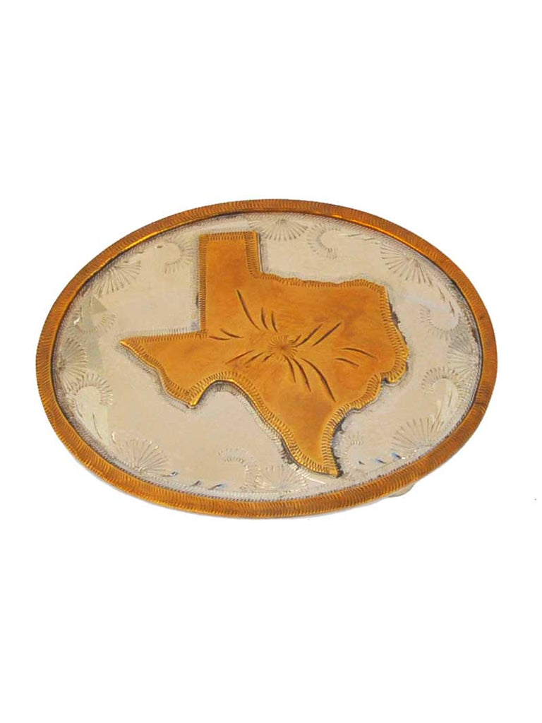 Johnson & Held Nickle Silver Texas State Handcrafted Belt Buckle Johnson & Held - J.C. Western® Wear