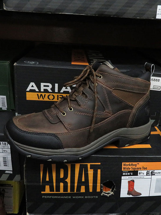 Ariat 10002182 Mens Terrain Hiking Boots Distressed Brown
