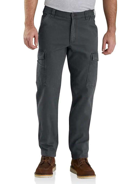 Carhartt 103574-029 Mens Rugged Flex Rigby Cargo Pant Shadow Front