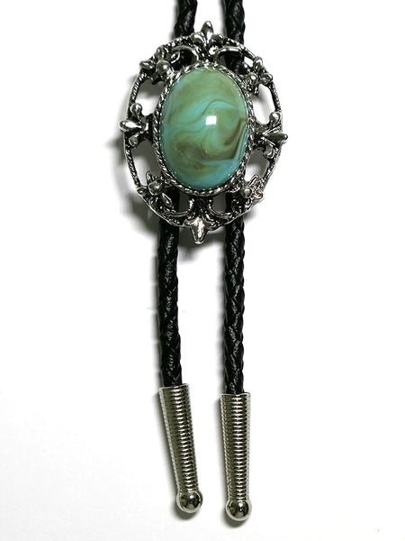 Austin Accent 1149T Turquoise Concho Western Bolo Tie