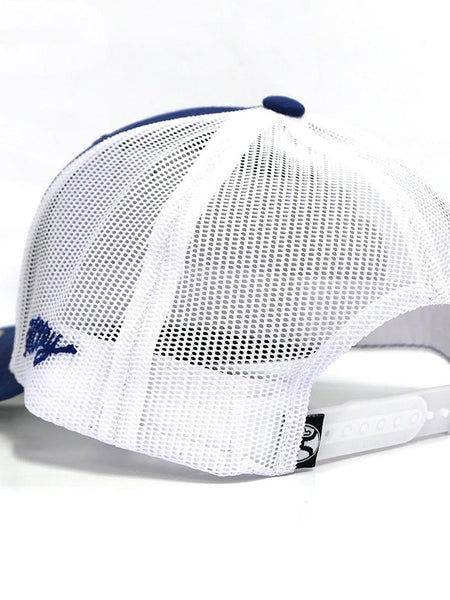 Hooey 1905T-BLWH American Flag Blue and White Ball Cap Mesh Back