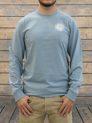 JC Western 1PC61LS Mens Live Country Long Sleeve Tee Light Blue Front Side