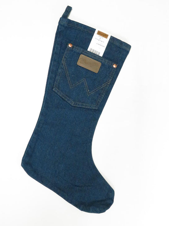 Wrangler 1WRCHST Christmas Stocking Stuffer Denim