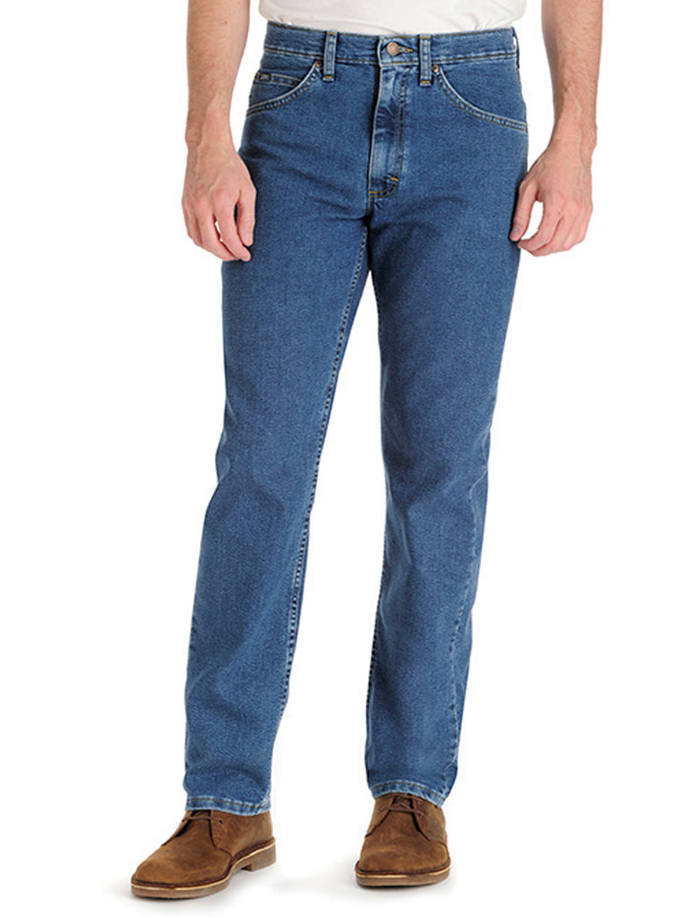 Mens Lee Regular Fit Straight Leg Stretch Jeans 2042044 2102044