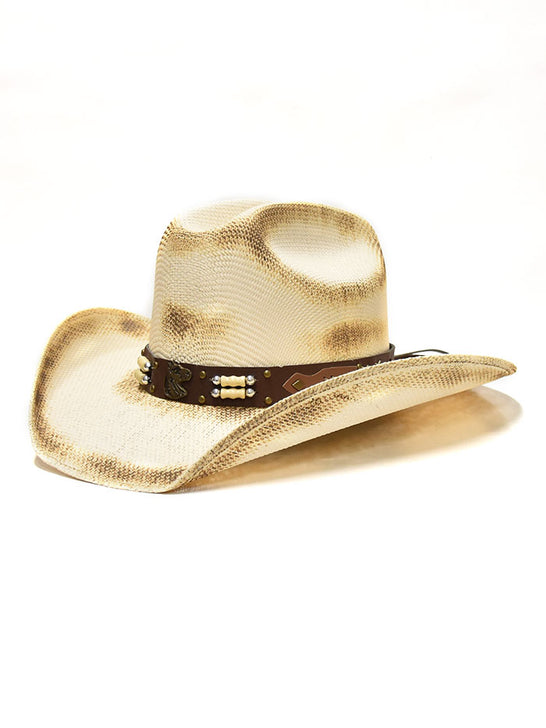 Bullhide 2813 Kids Lockhart Western Straw Hat Natural Front