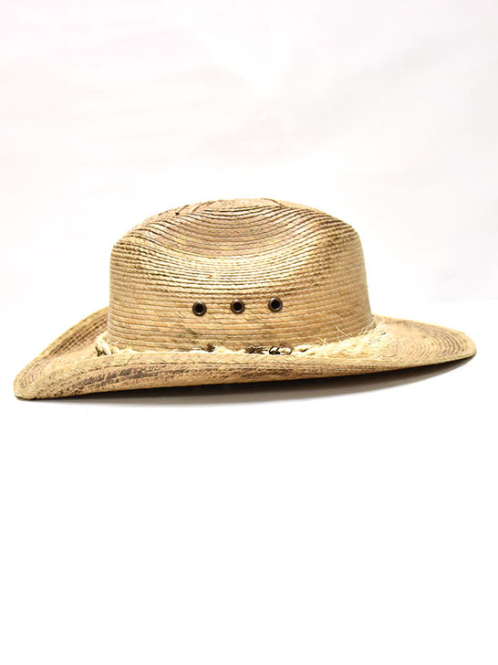 Bullhide 2933 Kids Outrider Western Straw Hat Natural side view