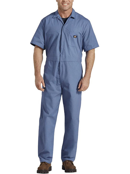 Dickies 33999 Mens Lightweight Short Sleeve Coveralls 33999MB FRONT