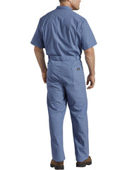 Dickies 33999 Mens Lightweight Short Sleeve Coveralls 33999MB BACK