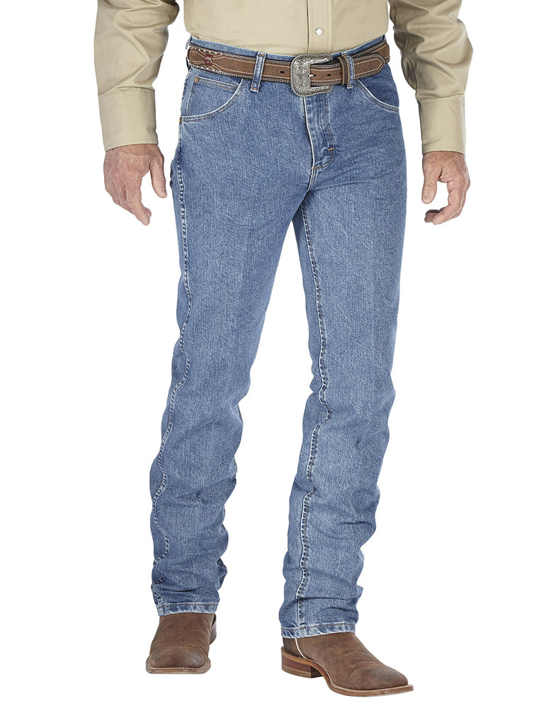 Wrangler Premium Performance Cool Vantage Cowboy Cut Slim Fit Jean Light Stone - 36MCVLS