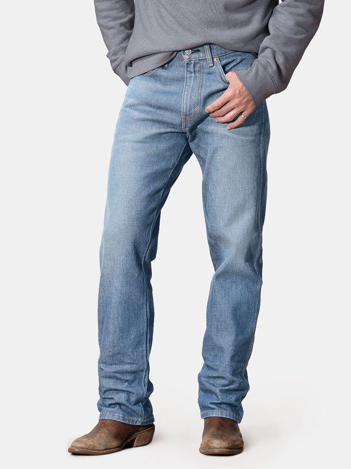 Levi's 376810007 Mens it's 5'oclock Western Fit Stretch Straight Leg Jeans