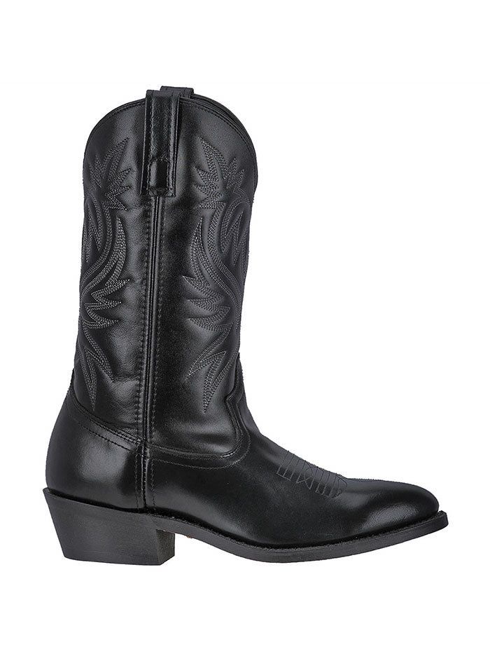 "Laredo 4210 Mens London 12"" Western Boot Black  Side Front"