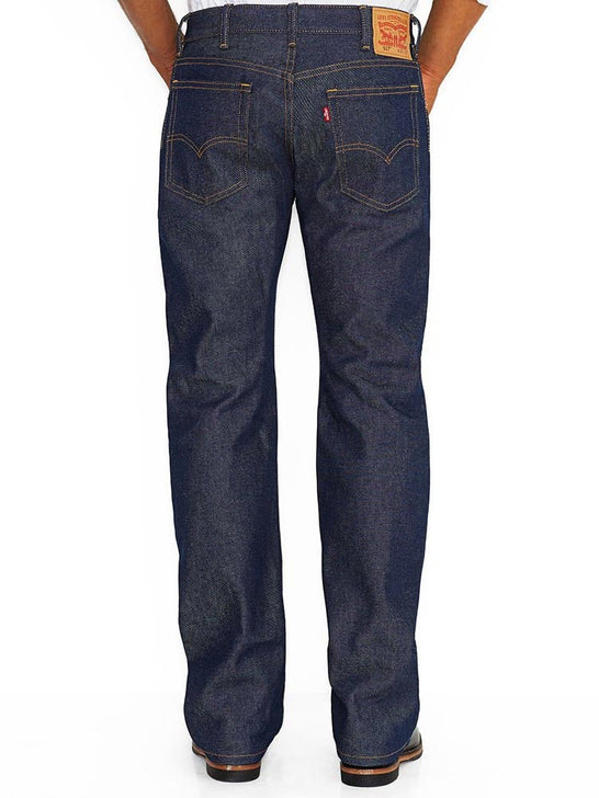 Levi's 00517-0217 Mens 517 Mid Rise Slim Fit Bootcut Jeans Rigid Back
