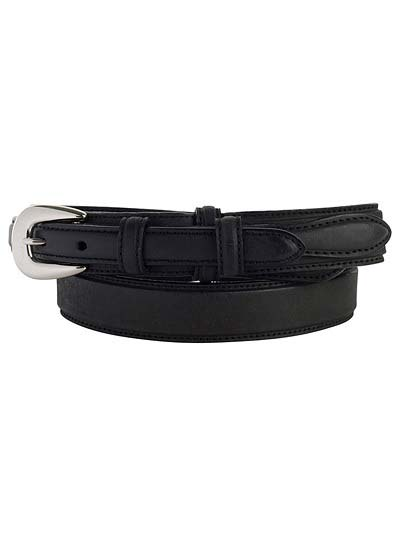 Gem Dandy Oil Tanned Leather Ranger Belt - 5547500-Black