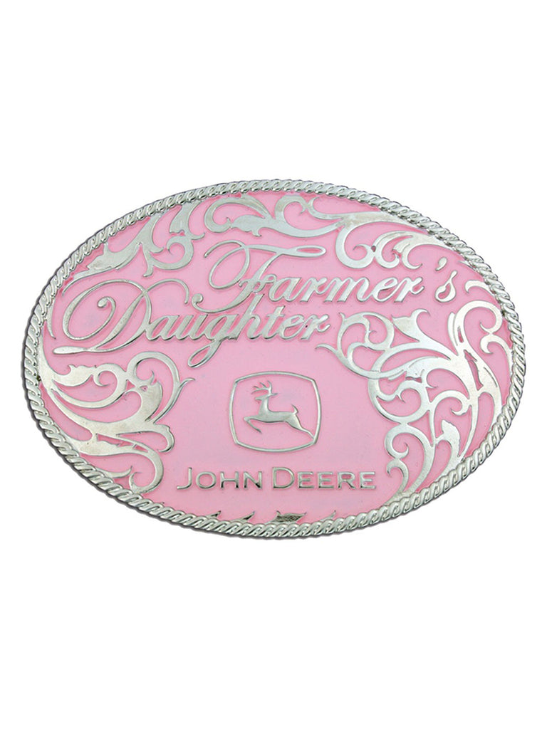 Montana Silversmiths John Deere Farmers Daughter Attitude Belt Buckle 61547 Montana Silversmiths - J.C. Western® Wear