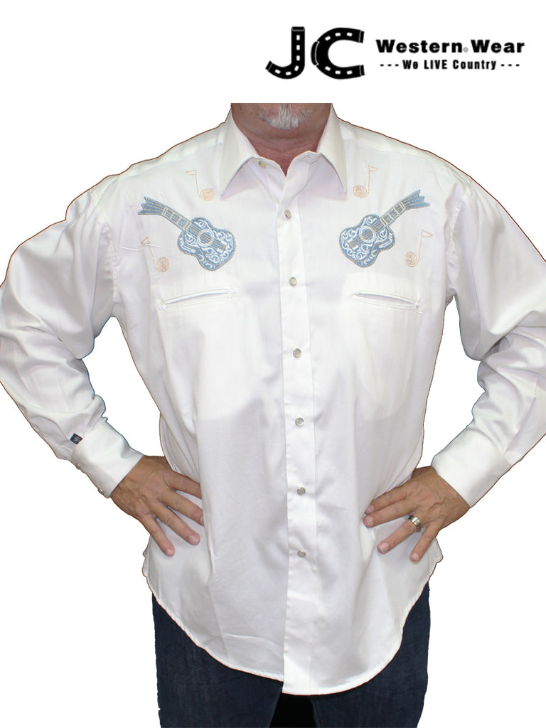 Rockmount Men's Guitar Western Shirt 6812