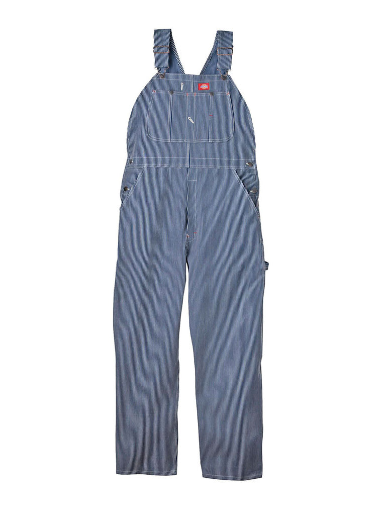 50% off hot-selling newest search for latest Mens Dickies Hickory Stripe Bib Overall - Hickory Stripe