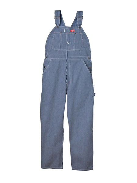 Men's Dickies Hickory Stripe Bib Overall - Hickory Stripe Dickies - J.C. Western® Wear