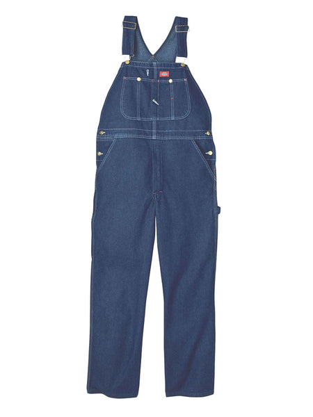 Men's Dickies Indigo Bib Overall - Stone Washed 8396SNB Dickies - J.C. Western® Wear