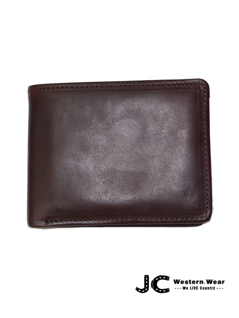 Brighton Forbes Passcase Wallet Brown Brighton - J.C. Western® Wear