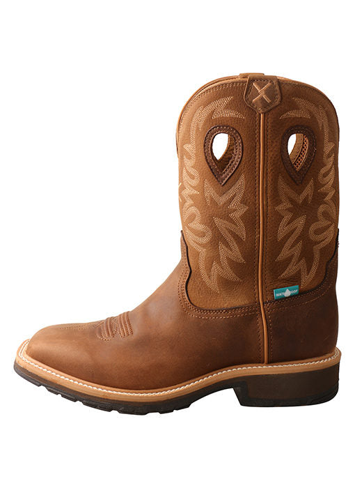 Mens Twisted X  Waterproof Western Work Boot  – MCWW002 -5