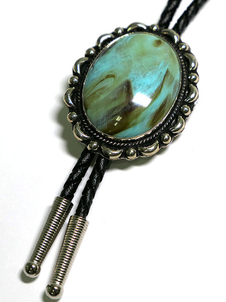 Austin Accent AC53T Turquoise Concho Western Bolo Tie