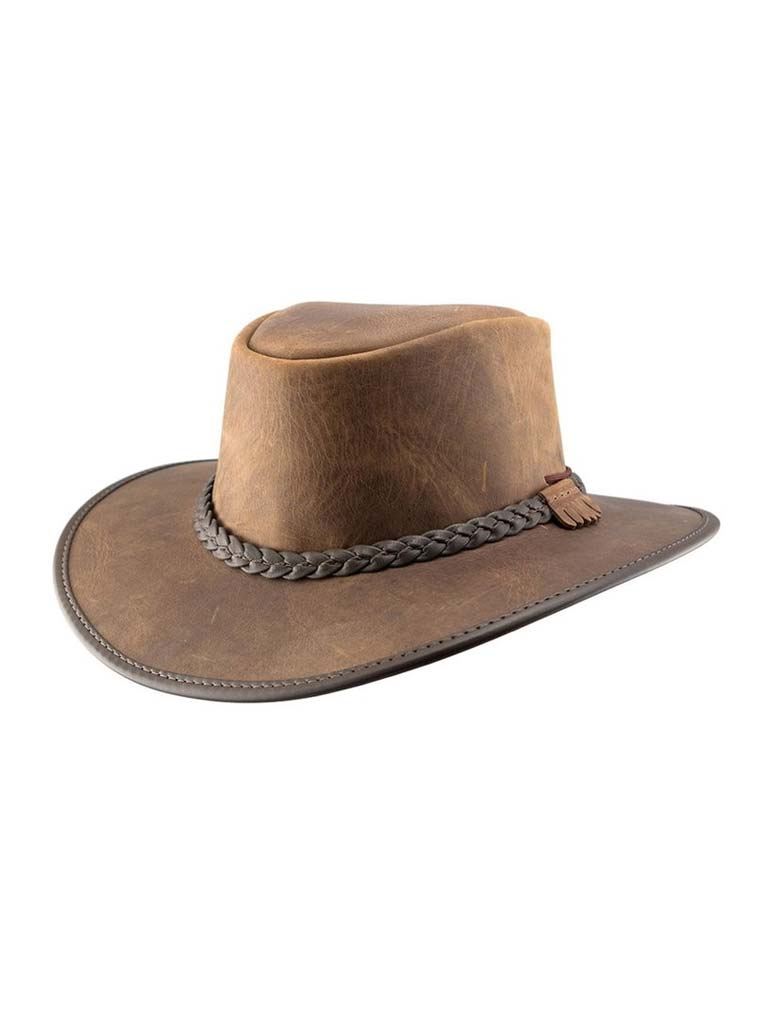 Head'n Home American Outback Bravo Hat - Chestnut