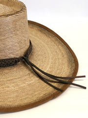 Alamo Hats D53102 Gambler Feet Alamo Palm Straw Hat Hat Band