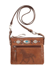 American West Ladies Trail Rider Hip/Crossbody Bag 9365884