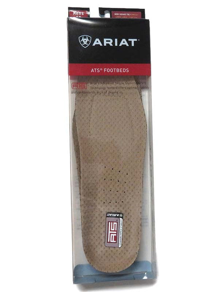 Ariat Mens ATS Square Toe Insert Footbed 10008009