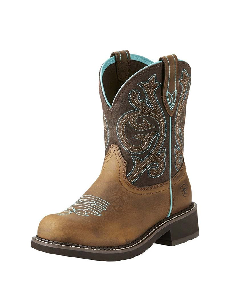 Ariat Womens Fatbaby Heritage Brown Cowgirl Boots 10021462