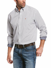 Ariat Mens Classic Wrinkle Free Verner Long Sleeve Shirt 10028296 at JC Western Wear
