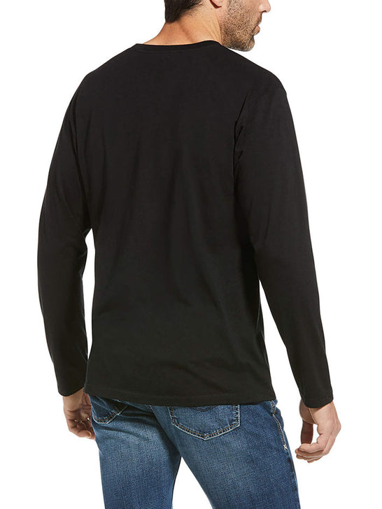 Ariat 10034362 Mens Woodlands Long Sleeve T-Shirt