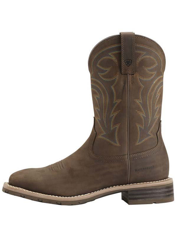Ariat® Men's Hybrid Rancher H2O Distressed Brown Waterproof Boots 10014067 Ariat - J.C. Western® Wear
