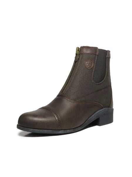 Ariat 10006382 Kids Devon III Paddock Short Boot Chocolate