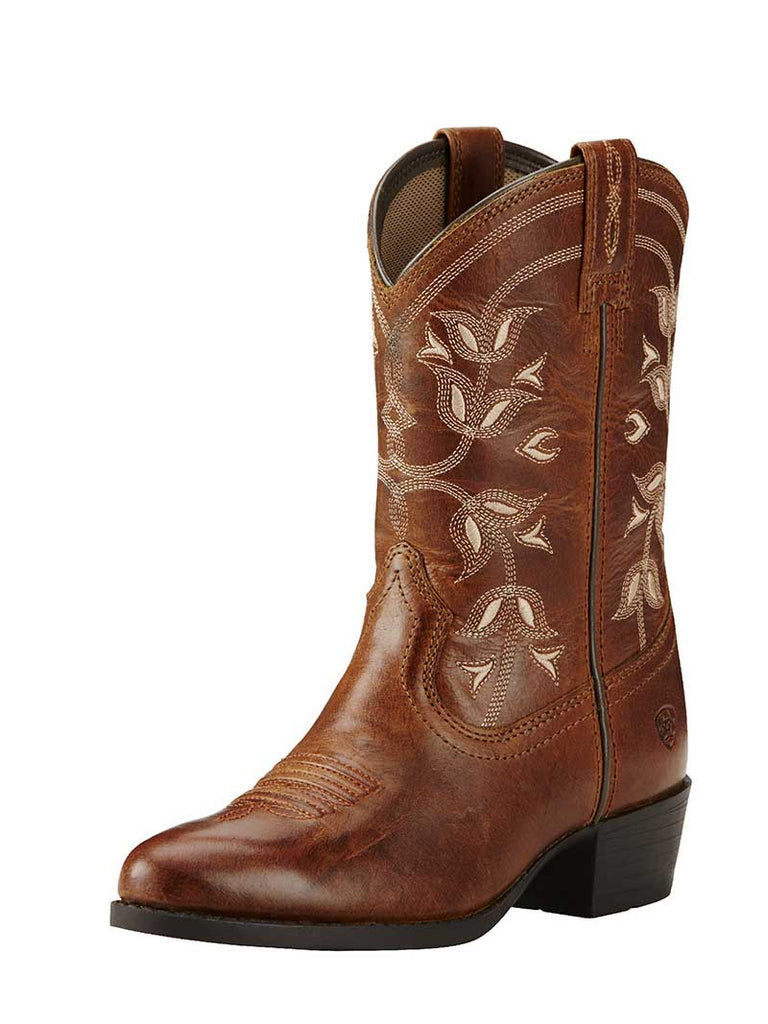 Kid's Ariat® Desert Holly Coyote Brown Western Boots 10018647