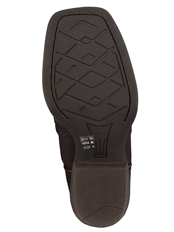 Ariat 10014101 Kids Roughstock Boot Brown Oiled Rowdy