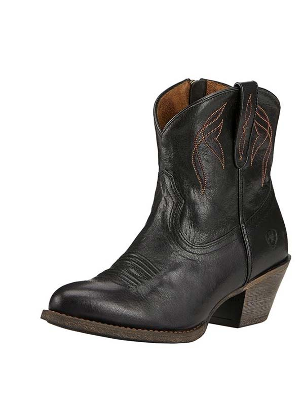 Ariat 10017325 Womens Darlin Old Short Boots Black