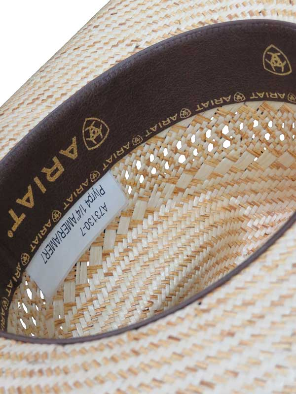 Ariat Mens Poly Rope Americana Straw Hat A73130