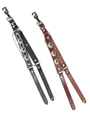 Austin Accent Leather Boot Strap with Conchos BBR-04