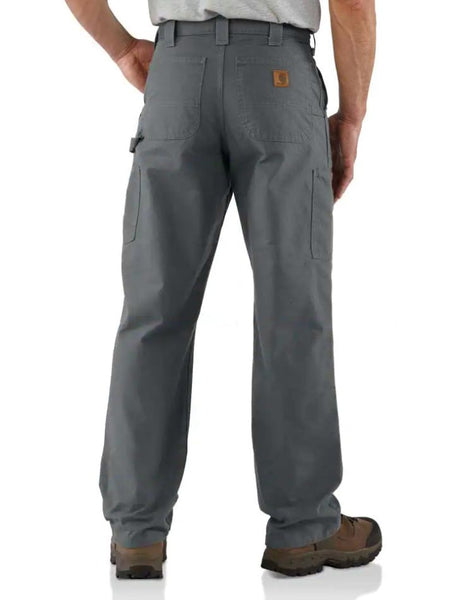Carhartt B151 Mens Canvas Work Dungaree Loose Fit Pants Fatigue